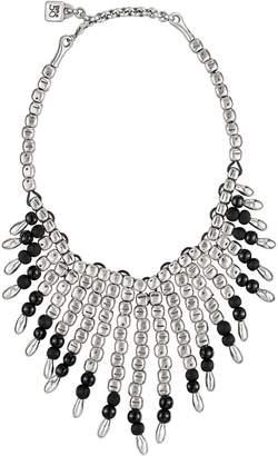 Uno de 50 Let It Flow Graduated Bead Bib Necklace
