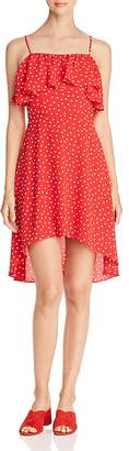 Aqua Polka Dot High/Low Dress - 100% Exclusive