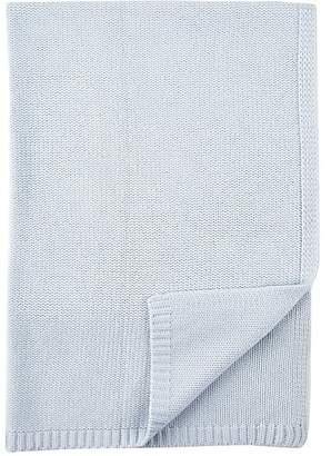 Barneys New York Cashmere Baby Blanket - Blue
