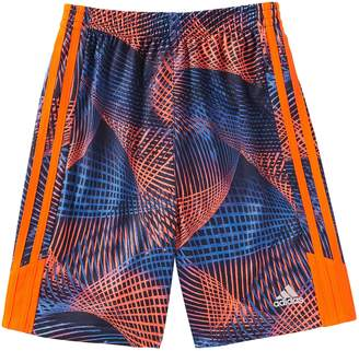 adidas Boys 4-7x Amplified Abstract Shorts