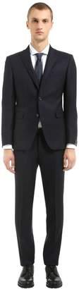 Tagliatore Wool Hopsack Suit