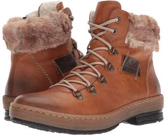 Rieker Z6743 Felicitas 43 Women's Lace-up Boots