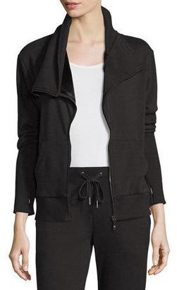 UGG Molly Double-Knit Fleece-Lined Jacket, Black $98 thestylecure.com