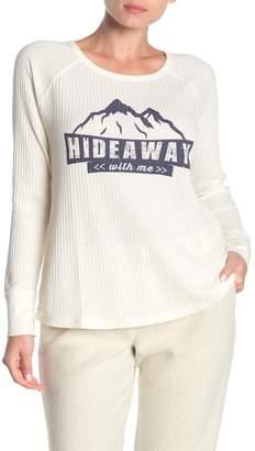 PJ Salvage Long Sleeve Winter Escape Top