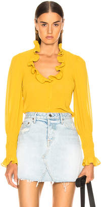 Alexis Scyler Top in Yellow | FWRD