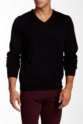 Yoki V-Neck Pullover Sweater