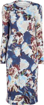 Prabal Gurung Floral Long Sleeve Dress