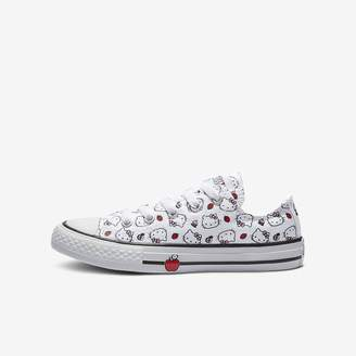 Converse x Hello Kitty Chuck Taylor All Star Low Top Big Kids' Shoe