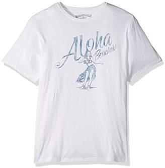 Margaritaville Men's Short Sleeve Aloha Beaches T-Shirt