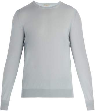 Bottega Veneta Intrecciato woven wool sweater