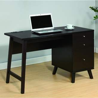 Andover Mills Cargile Sturdy Spacious Drawer Storage Writing Desk
