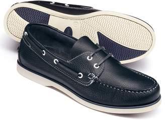 Charles Tyrwhitt Navy Boat Shoe Size 12