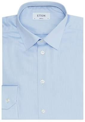 Eton Super Slim Fit Cotton Twill Shirt