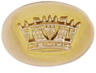 Annina Vogel Gold Crown Disc Ring