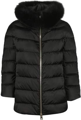 Herno Fur Collar Padded Jacket