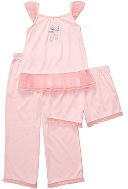 Carter's 3-pc. Ballerina Pajamas - Girls 2t-5t