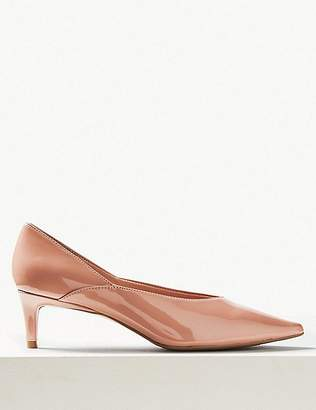 Marks and Spencer Kitten Heel Pointed Court Shoes