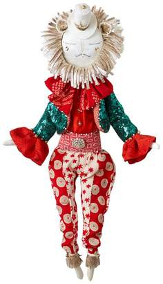 Alice Mary Lynch Ringmaster Rosco Lion Christmas Decoration