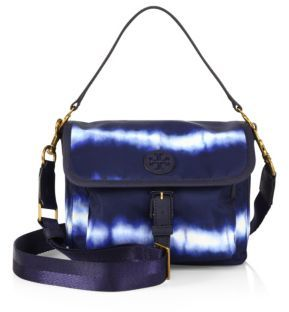 Tory Burch Tory Burch Scout Tie-Dye Nylon Crossbody Bag