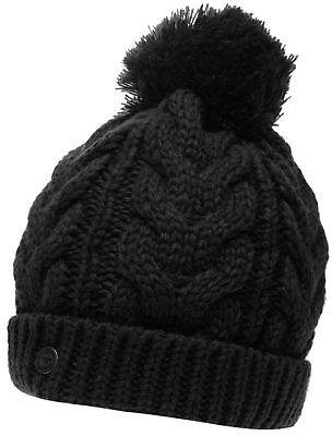 Soul Cal SoulCal Womens Vesna Hat Bobble Knitted