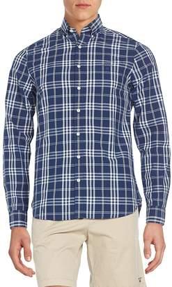 Gant Men's Fitted Plaid Cotton Sportshirt