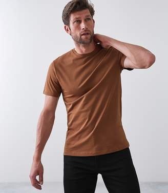 Reiss BLESS CREW NECK T-SHIRT Copper
