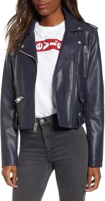 Levi's Faux Leather Moto Jacket