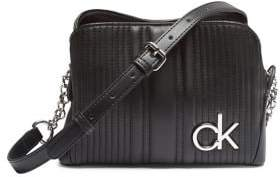 Calvin Klein Paige Faux-Leather Chain Crossbody Bag