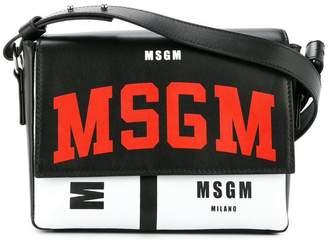 MSGM logo shoulder bag