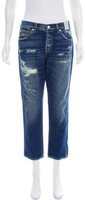 Amo Mid-Rise Tomboy Cropped Jeans w/ Tags