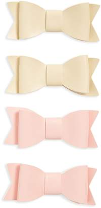 Baby Bling 4-Pack Bow Clips