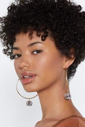 Nasty Gal Goodness Gracious Hoop Earrings