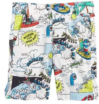 Stella McCartney Lucas Cartoon Print Shorts