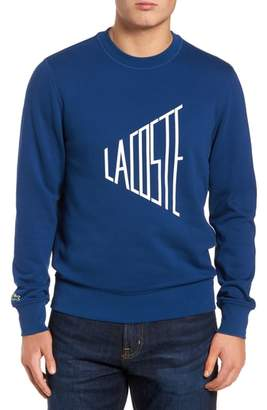 Lacoste Lettering Fleece Sweatshirt