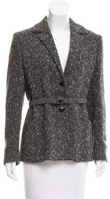 Max Mara Notch-Lapel Wool-Blend Coat