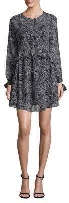 Sam Edelman A-Line Long-Sleeve Dress