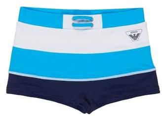 Armani Junior Logo Swimming Briefs