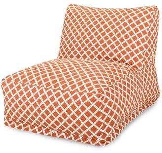 Ebern Designs Gilbertown Pattern Bean Bag Lounger Ebern Designs