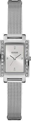 GUESS Women's Stainless Steel Mesh Bracelet Watch 20x35mm U0953L1