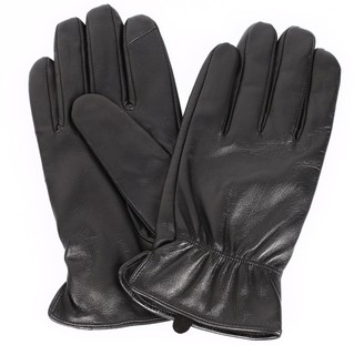 Hanson Karla Men's Leather Touch Screen Gloves