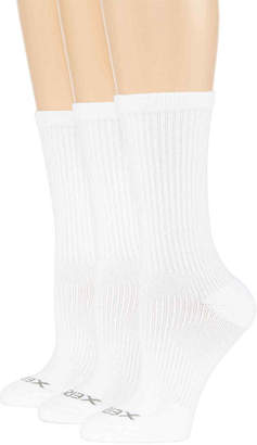 JCPenney Xersion 3-pk. Zone Cushioned Crew Socks