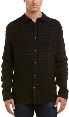 Vince Wool-Blend Woven Shirt