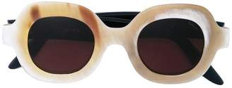 Lapima rounded mass sunglasses