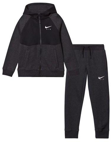 NIKE Black Air Cuff Track Suit