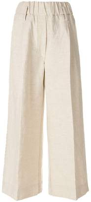 Forte Forte embroidered flared trousers
