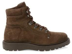 Aquatalia Christopher Suede Hiking Boots