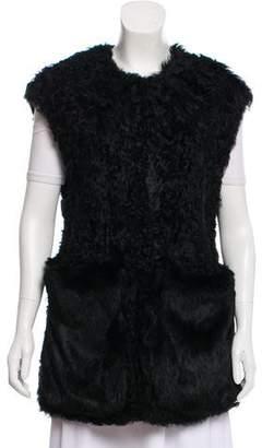 Diane von Furstenberg Chandra Fur Vest