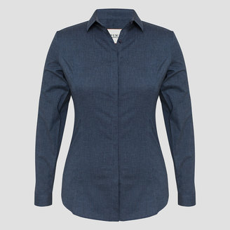 Stella Stretch Chambray Shirt $165 thestylecure.com