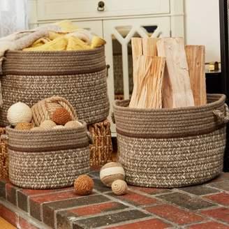 Highland Dunes Banded Basket