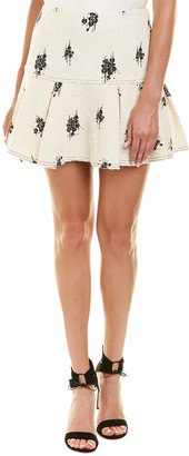 Derek Lam 10 Crosby Flared Mini Skirt
